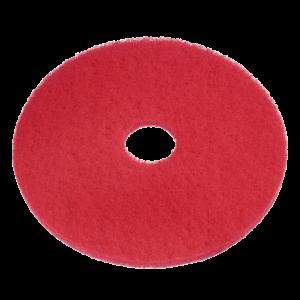 vloerpad rood opblokken boenpad