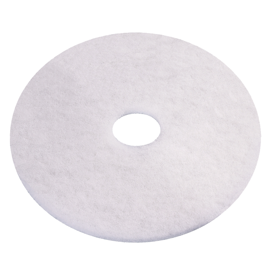 vloerpad wit glans polijstpad