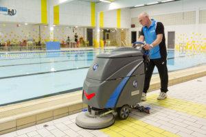 Ice, achterloopmachine zwembaden en wellness